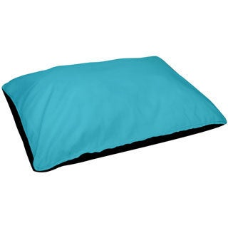 28 x 48 -inch Turquoise Outdoor Solid Dog Bed