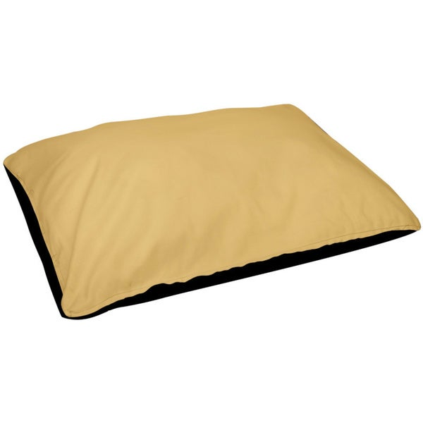 18 x 28 -inch Yellow Outdoor Solid Dog Bed
