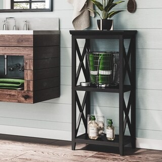 RiverRidge X-frame 3-shelf Storage Tower