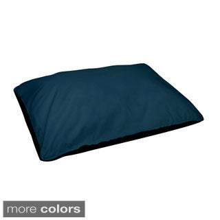 30 x 40 -inch Morrocan Blue Indoor Solid Dog Bed