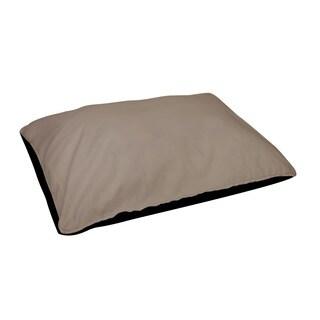 18 x 28 -inch Flax Indoor Solid Dog Bed