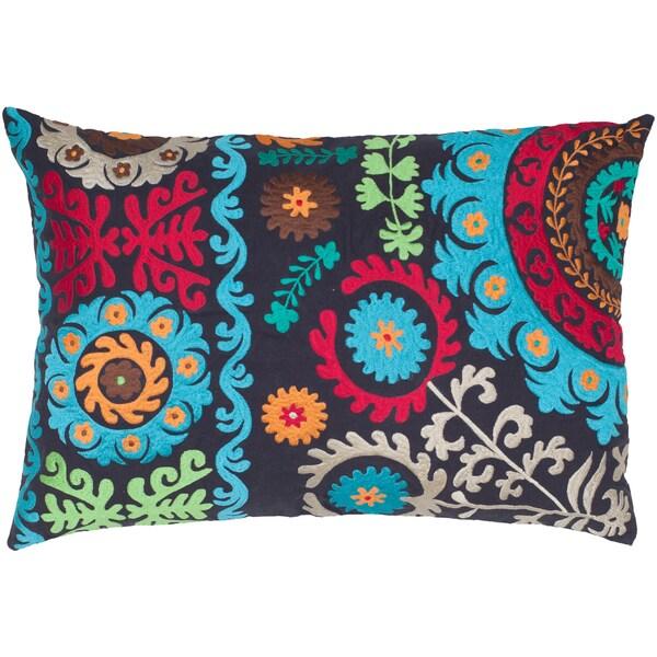 Cotton Embroidered Suzani Decorative Pillow