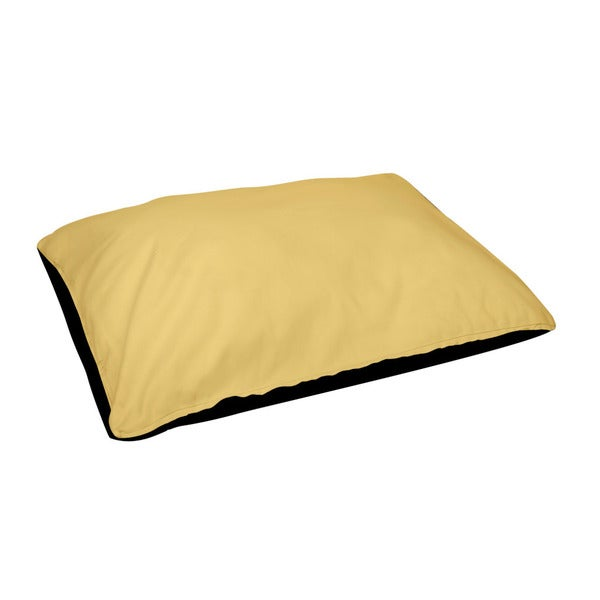 30 x 40 -inch Lemon Indoor Solid Dog Bed