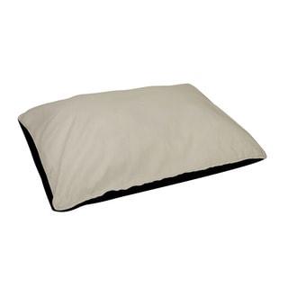 18 x 28 -inch Latte Indoor Solid Dog Bed