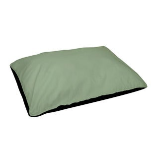 28 x 48 -inch Margarita Green Indoor Solid Dog Bed