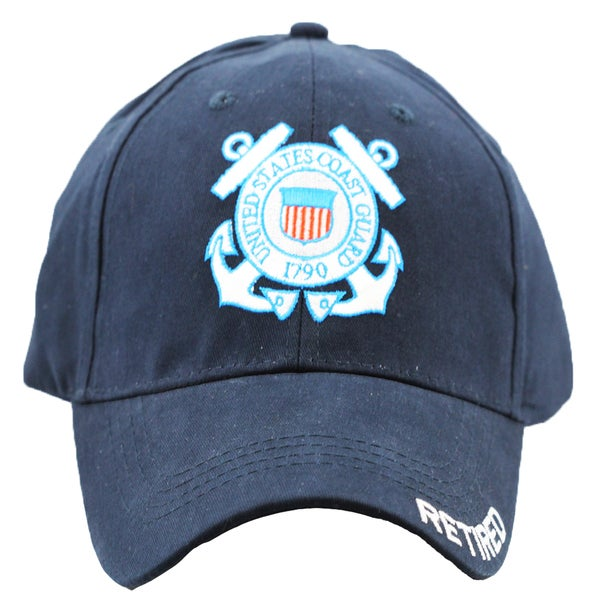 US Coast Guard Retired Military Cap