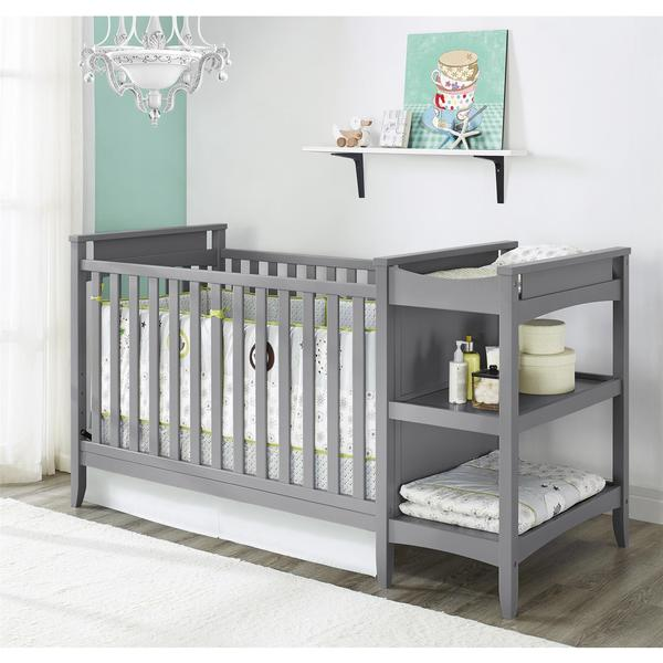 Baby relax emma crib and changing table combo overstock Baby crib with changing table