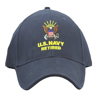 US Navy Retired Military Cap