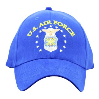 US Air Force Emblem Embroidered Cap
