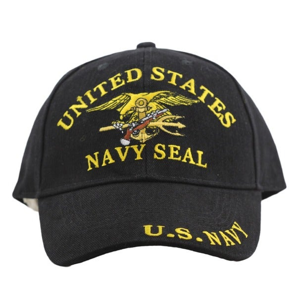 US Navy Seal Team Embroidered Cap