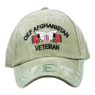 OEF Operation Enduring Freedom Afghanistan Veteran Cap
