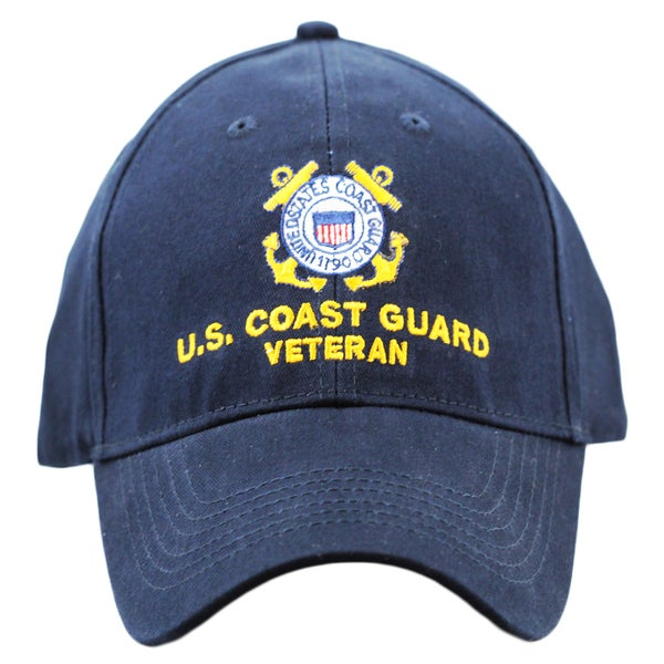 US Coast Guard Veteran Military Cap