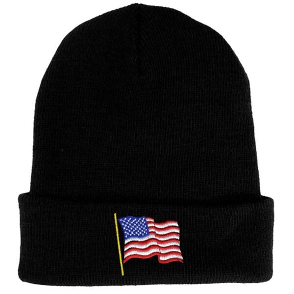 USA Flag Knit Hat