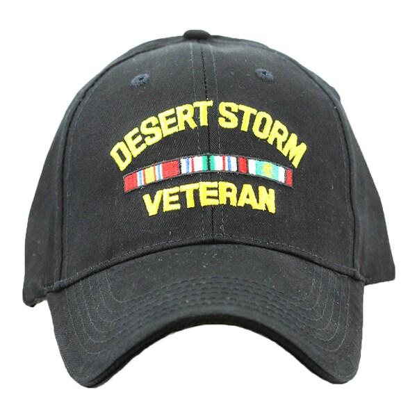 Desert Storm Veteran Baseball Cap