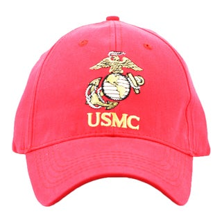 US Marine Corps Embroidered Baseball Cap