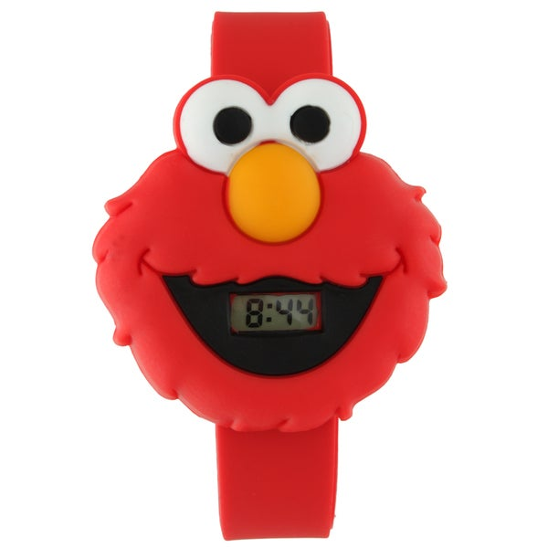 Sesame Street Kids' Red Elmo Large Digital Watch