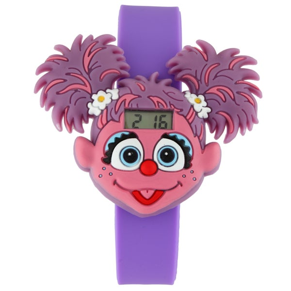 Sesame Street Kids' Abby Cadabby Digital LCD Watch