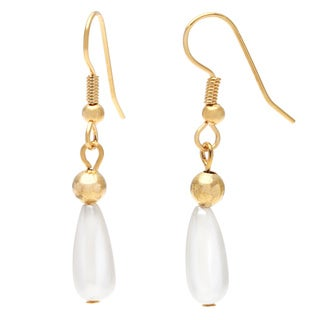 Detti Originals Gold Tone Pearl Earrings