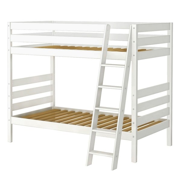 Double Up Bunk Bed with Angle Ladder