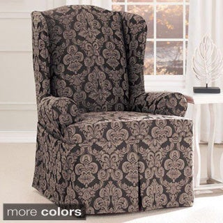 Sure Fit Middleton Wing Chair Slipcover