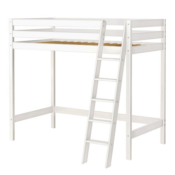 High Roller High Loft Bed With Angle Ladder 16671095