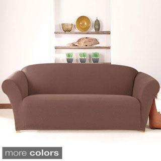 Sure Fit Stretch Calvary Twill Sofa Slipcover