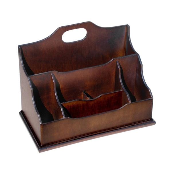 D-Art Mahogany Wood Letter Box (Indonesia)
