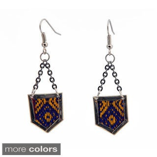 Archer Colorful Aguayo Earrings (Bolivia)