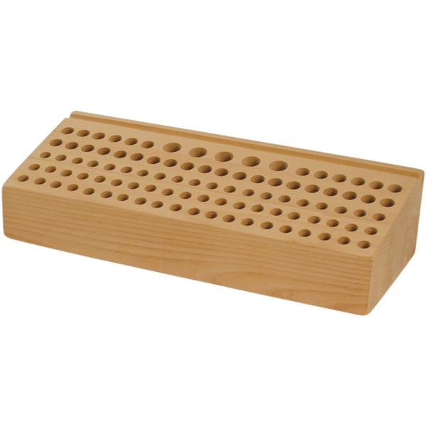 Deluxe Wood Tool Rack