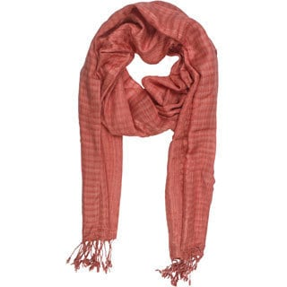 In Sattva Colors - Checkered print Scarf Stole