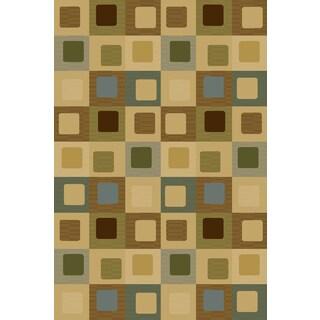 Christopher Knight Home Interlude Portico 030 Sloane Blue Area Rug (3'3 x 5'3)