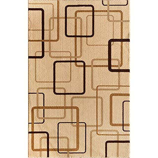 Christopher Knight Home Interlude Portico 030 Circuitry Ivory Area Rug (7'10 x 9'10)