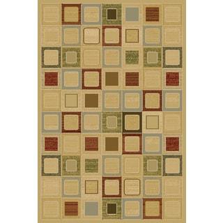 Christopher Knight Home Interlude Portico 030 Jonas Red Area Rug (7'10 x 9'10)