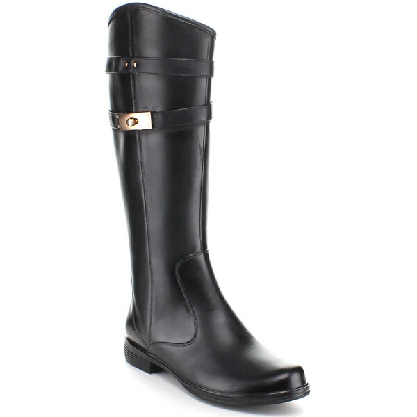 Miim Zitas-01 Women's Faux Leather Knee High Riding Boots