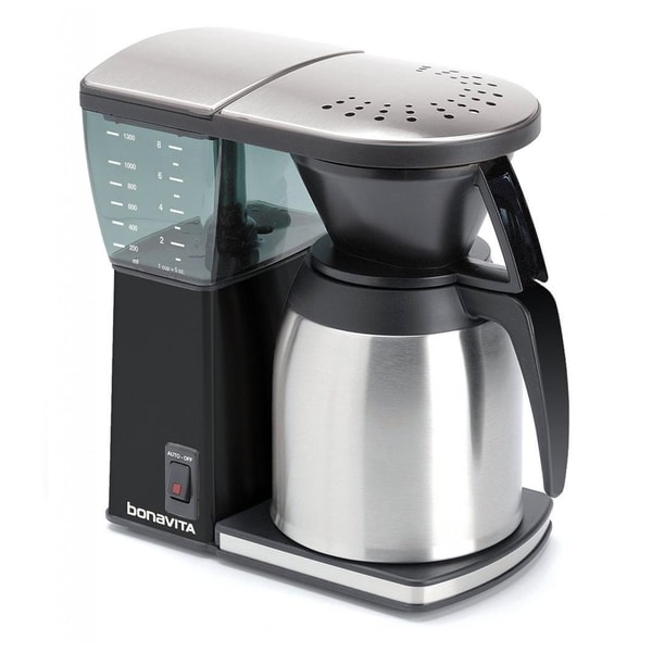 Kitchenaid Coffee Maker Carafe Leaks : Bonavita BV1800SSB Black 8-cup Coffee Maker With Thermal Carafe - 16671364 - Overstock.com ...