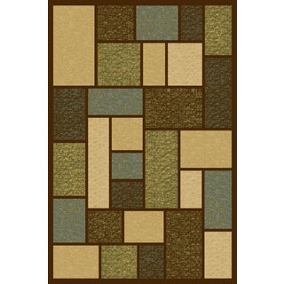 Somette Interlude Portico 030 Keswick Square Multi Area Rug (9'10 x 12'10)