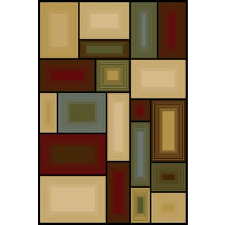 Somette Interlude Portico 030 Prism Multi Area Rug (9'10 x 12'10)