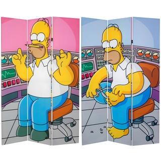 Simpsons Homer at Work 6-foot Canvas Room Divider