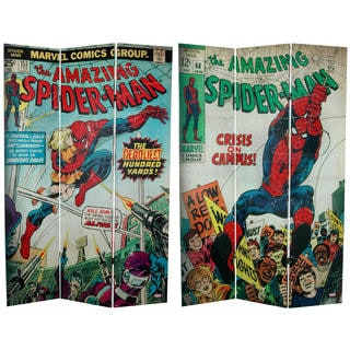 6-foot Tall Double Sided The Amazing Spider-Man Canvas Room Divider