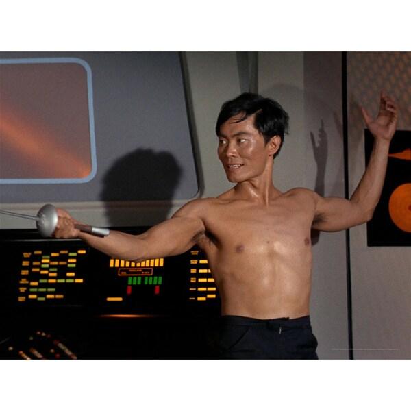Star Trek Lieutenant Sulu Wall Art