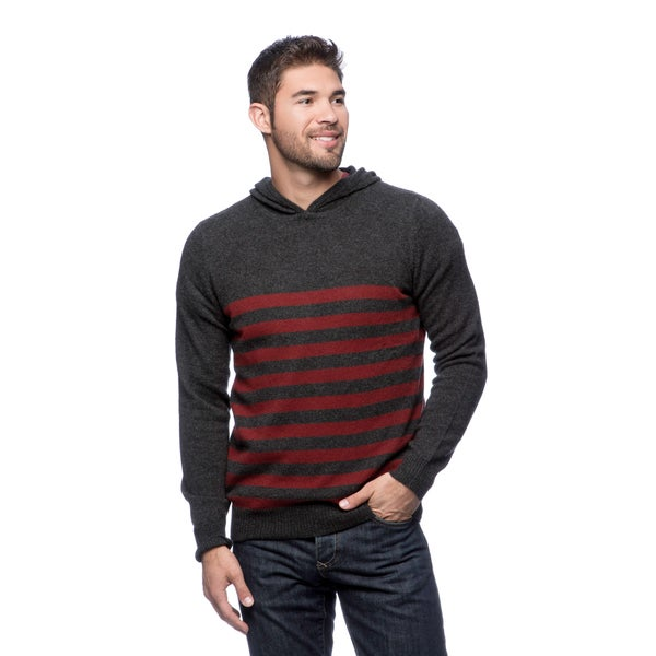 Cullen Striped Hooded Sweater
