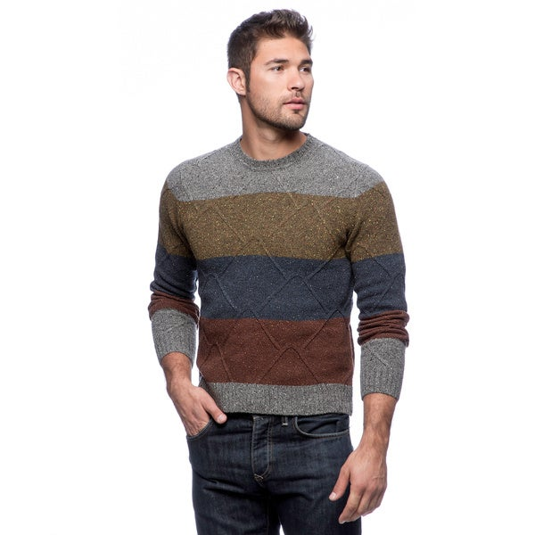 Cullen Aran Striped Crew