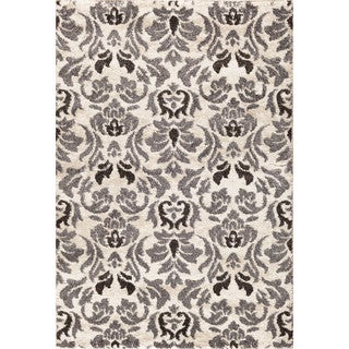 Christopher Knight Home Olympia Hybrid 070 Layla Snow/ Silver Area Rug (7'10 x 9'10)