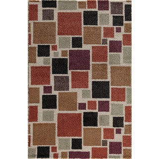 Christopher Knight Home Olympia Hybrid 070 Harding Pearl/ Multi Area Rug (7'10 x 9'10)