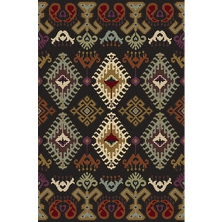 Christopher Knight Home Olympia Hybrid 070 Caribou Pearl/ Multi Area Rug (7'10 x 9'10)