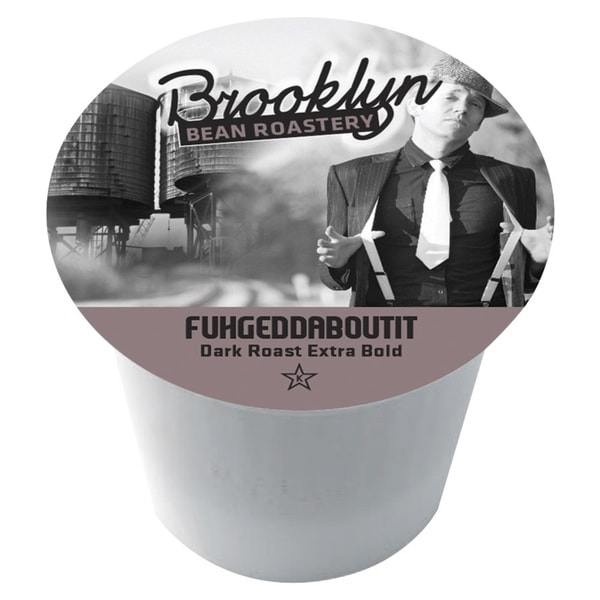 Brooklyn Bean 'Fuhgeddaboutit' Single Serve Coffee K-Cups