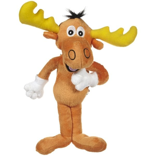 Multipet 13-inch Bullwinkle Plush Dog Toy