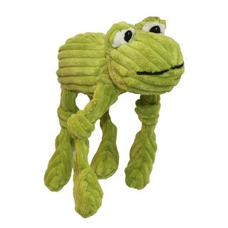 Multipet Corduroy Critters 8-inch Frog Dog Toy