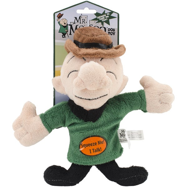 Multipet Mr. Magoo 10-inch Talking Plush Dog Toy