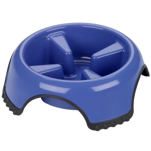 JW Skid Stop Slow Feeder Pet Bowl